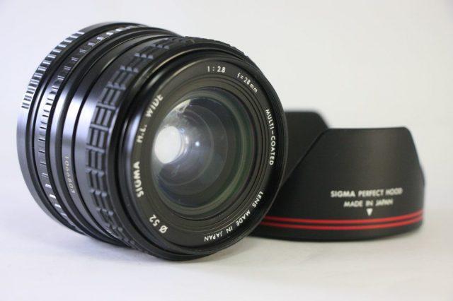 Sigma MF 28mm F/2.8 H.L.