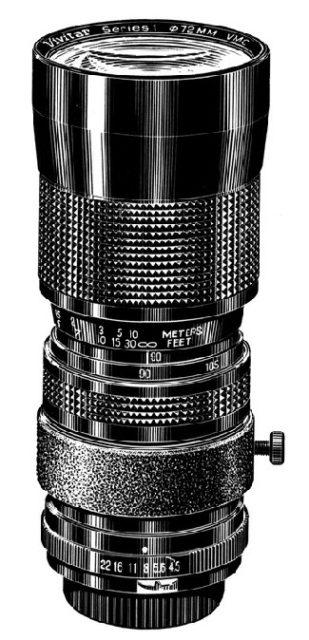 Vivitar Series 1 90-180mm F/4.5 VMC (Kino Precision)