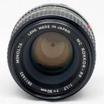 Minolta MC Rokkor(-X) PF 50mm F/1.7