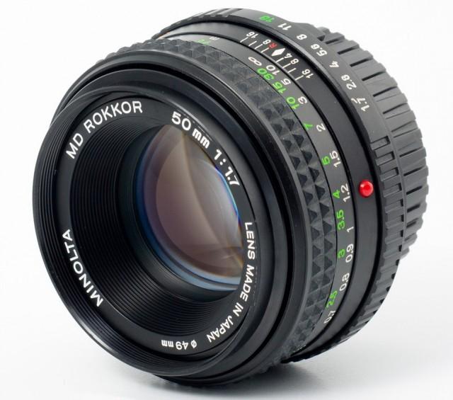 Minolta MD Rokkor(-X) 50mm F/1.7