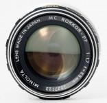 Minolta MC Rokkor-PF 55mm F/1.7
