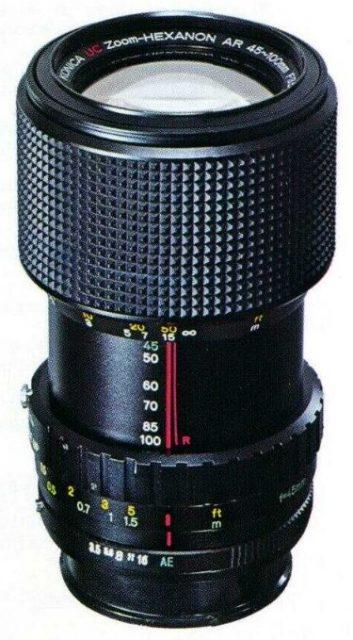 Konica Zoom-Hexanon AR 45-100mm F/3.5 UC