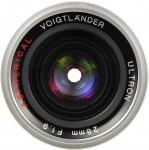 Cosina Voigtlander Ultron 28mm F/1.9 Aspherical LTM