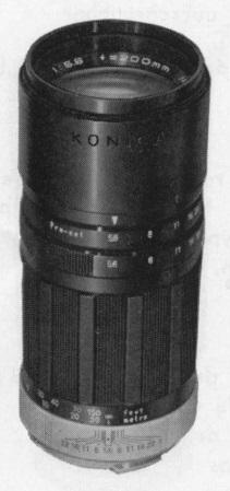 Konica Hexanon ARP 200mm F/5.6