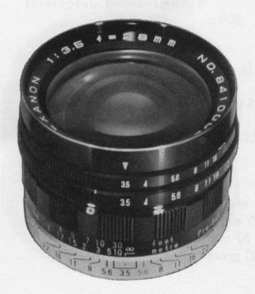 Konica Hexanon ARP 28mm F/3.5