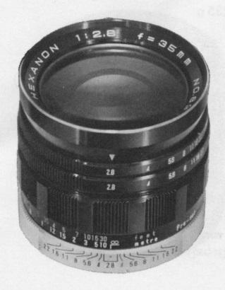 Konica Hexanon ARP 35mm F/2.8
