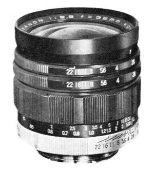 Konishiroku Hexanon 35mm F/2.8