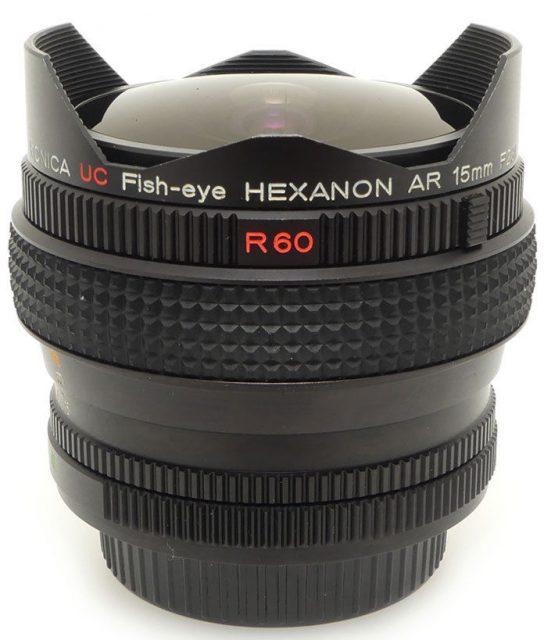 Konica Hexanon AR 15mm F/2.8 UC Fish-eye