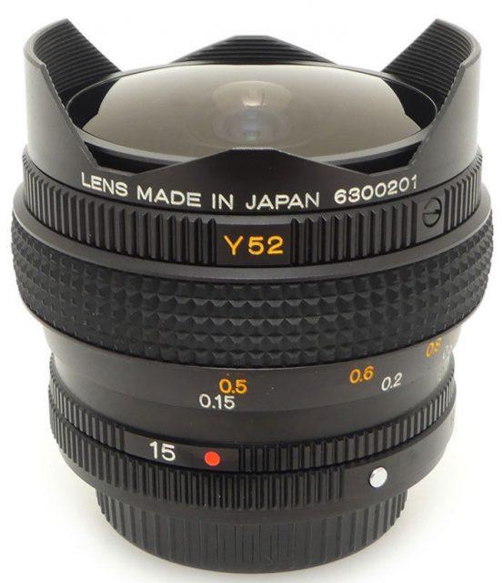 Konica Hexanon Ar 15mm F 2 8 Uc Fish Eye Lens Db Com