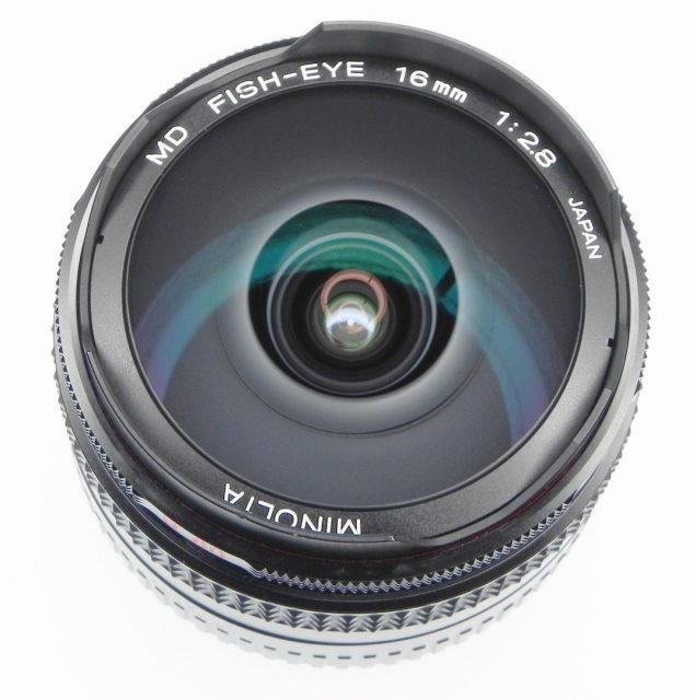 Minolta MD Fish-eye 16mm F/2.8