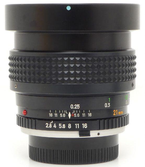 Minolta MC W.Rokkor(-X) (NL) 21mm F/2.8