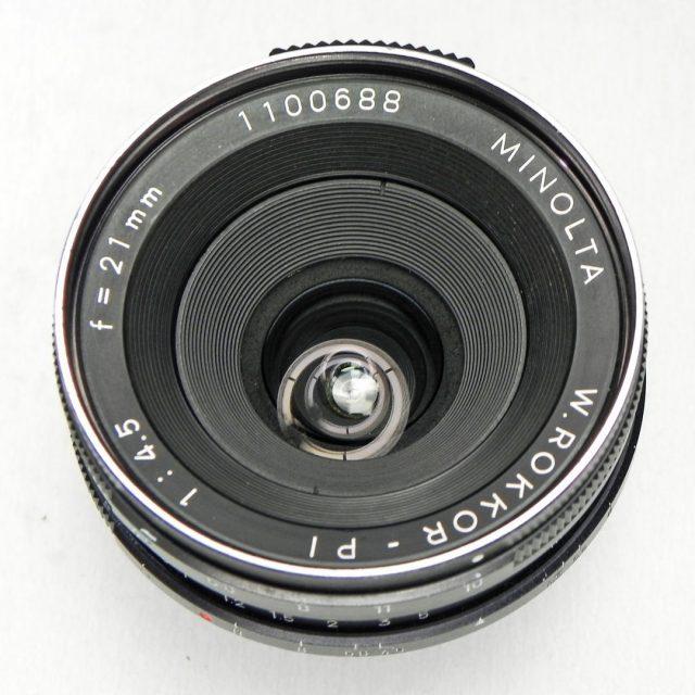 Minolta W.Rokkor-PI 21mm F/4.5