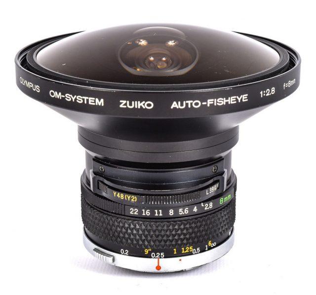 Olympus OM Zuiko Auto-Fisheye 8mm F/2.8