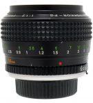 Minolta MC Rokkor(-X) (PG) 58mm F/1.2