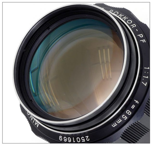 Minolta MC Rokkor-PF 85mm F/1.7