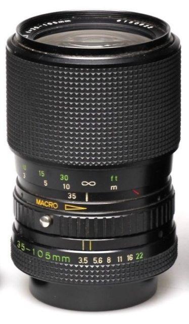 Zoom-Rolleinar MC 35-105mm F/3.5-4.3 Macro (Voigtlander Vario-Dynar AR)