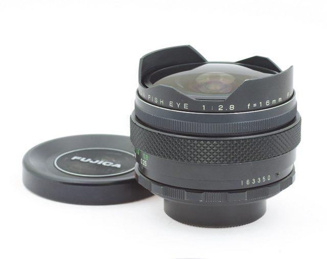 Fuji Photo Film EBC Fujinon 16mm F/2.8 Fish-eye