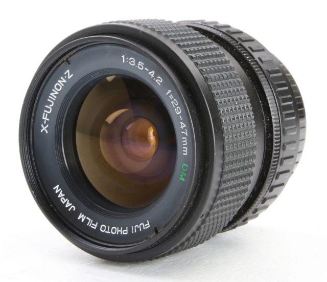 Fuji Photo Film X-Fujinon·Z 29-47mm F/3.5-4.2 DM