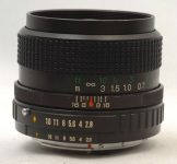 Fuji Photo Film EBC X-Fujinon·W 35mm F/2.8 DM