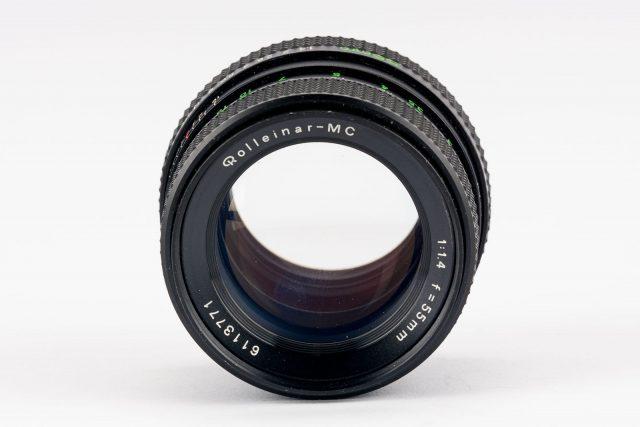Rolleinar-MC 55mm F/1.4 (Mamiya-Sekor SX, Voigtlander Color-Ultron AR)