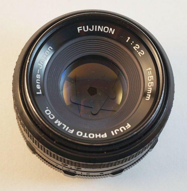 Fuji Fujinon 55mm F/2.2