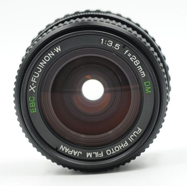Fuji Photo Film EBC X-Fujinon·W 28mm F/3.5 DM