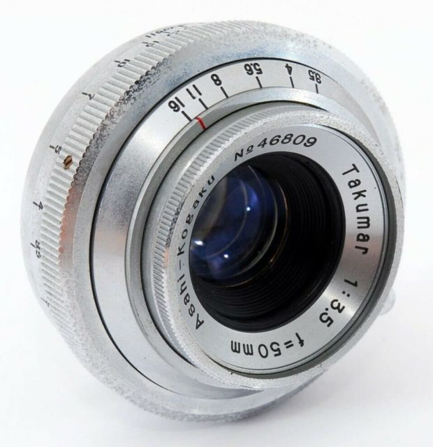 Asahi Takumar 50mm F/3.5