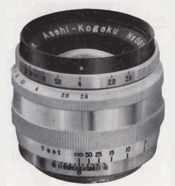 Asahi Takumar 58mm F/2.4