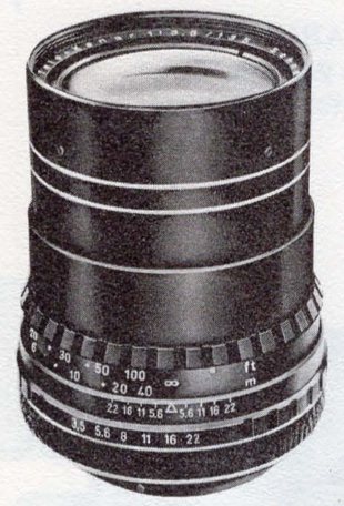 Schneider-KREUZNACH Tele-Xenar 135mm F/3.5