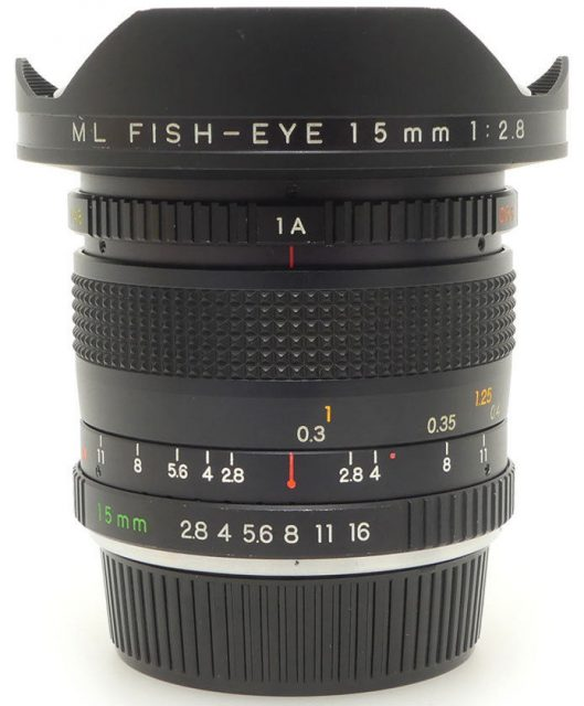 Yashica ML 15mm F/2.8 Fish-eye