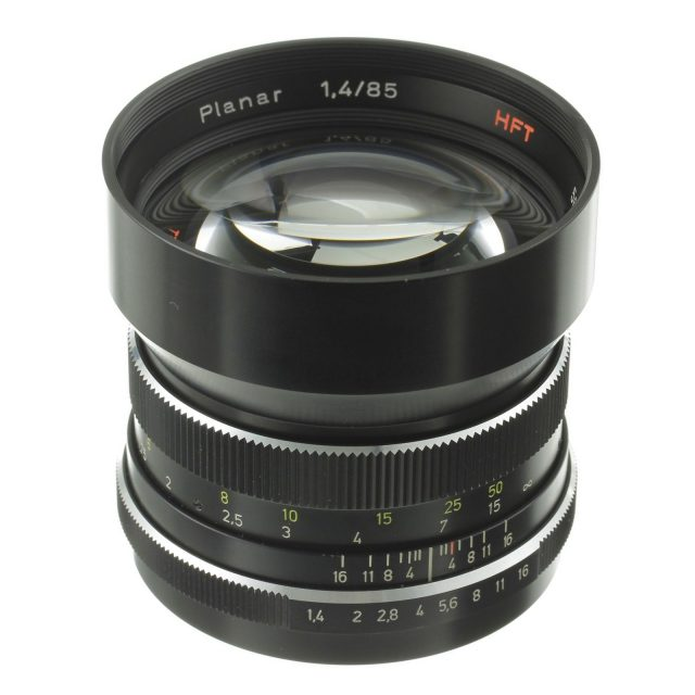 Carl Zeiss Planar HFT 85mm F/1.4