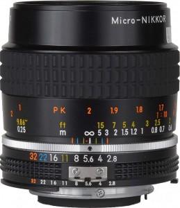 Nikon AI-S Micro-Nikkor 55mm F/2.8