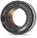 Yashica Auto Yashinon-DS 50mm F/1.4