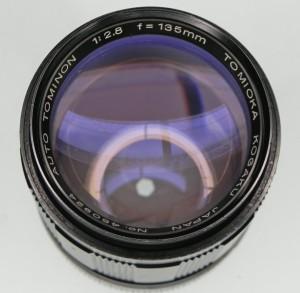 Tomioka Auto Tominon 135mm F/2.8