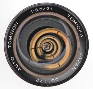 Tomioka Auto Tominon 21mm F/3.5 (Chinon)