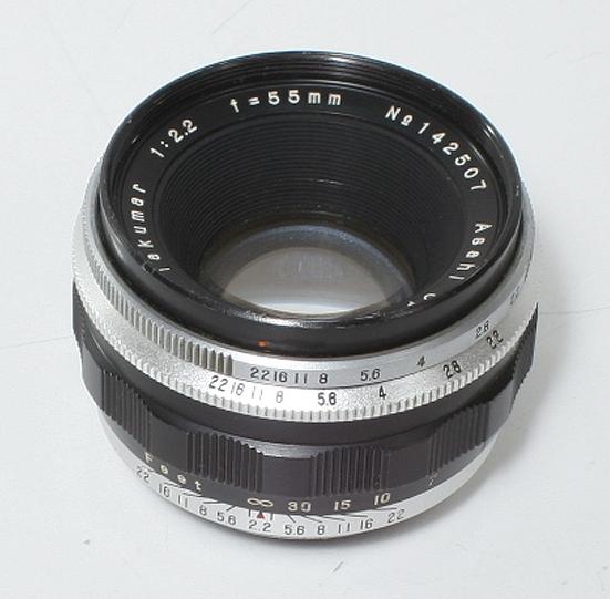 Asahi Takumar 55mm F/2.2