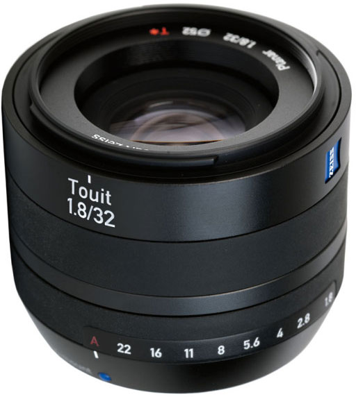 Carl Zeiss Touit Planar T* 32mm F/1.8