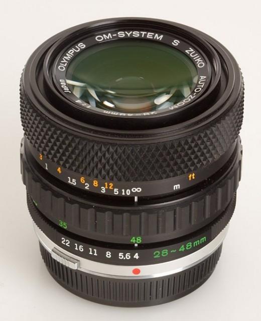 Olympus OM S Zuiko Auto-Zoom 28-48mm F/4