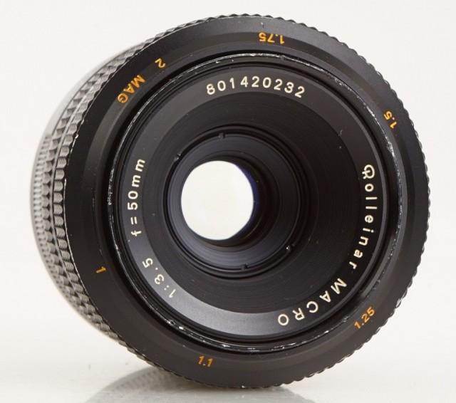 Rolleinar Macro 50mm F/3.5 (Mamiya-Sekor)
