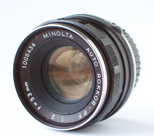 Minolta Auto Rokkor-PF 53mm F/2