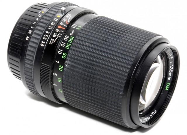 Fuji EBC X-Fujinon-T 135mm F/3.5 DM