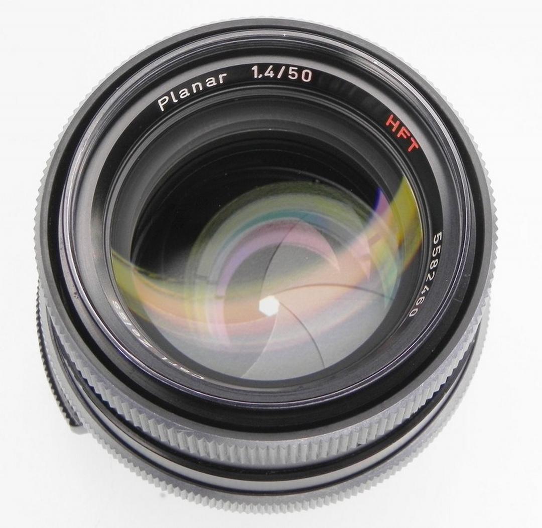 Carl Zeiss Rollei HFT Planar 1.4/50 1.4 50mm 50 mm ...