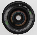 Fuji EBC X-Fujinon-SW 24mm F/2.8 DM