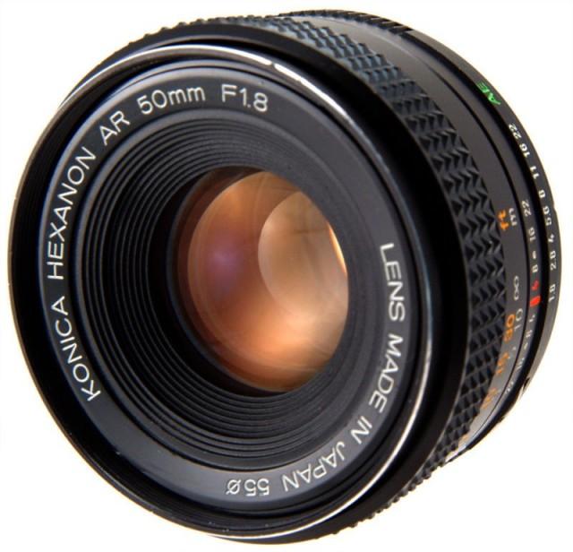 Konica Hexanon AR 50mm F/1.8