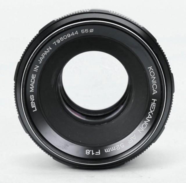 Konica Hexanon (AR) 52mm F/1.8