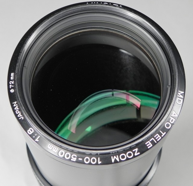 Minolta MD APO Tele Zoom 100-500mm F/8