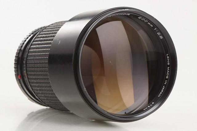 Minolta MD Tele Rokkor(-X) 200mm F/2.8