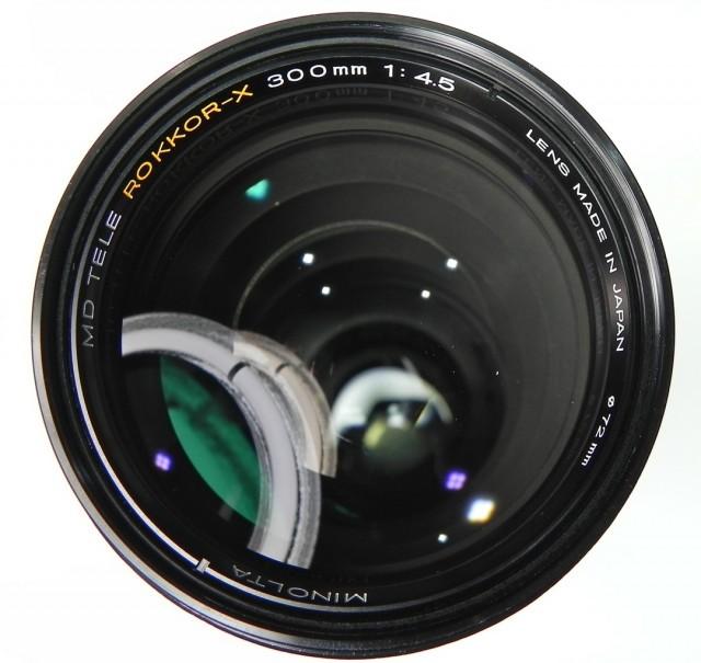 Minolta MD Tele Rokkor(-X) 300mm F/4.5