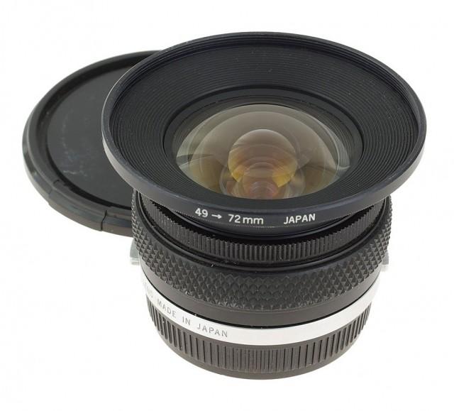 Olympus OM Zuiko (MC) 18mm F/3.5