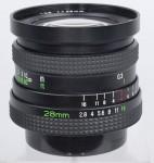 Rolleinar-MC 28mm F/2.8 (Wide-Angle Mamiya-Sekor SX, Voigtlander Color-Skoparex AR)